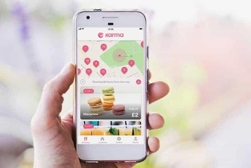 karma food waste app
