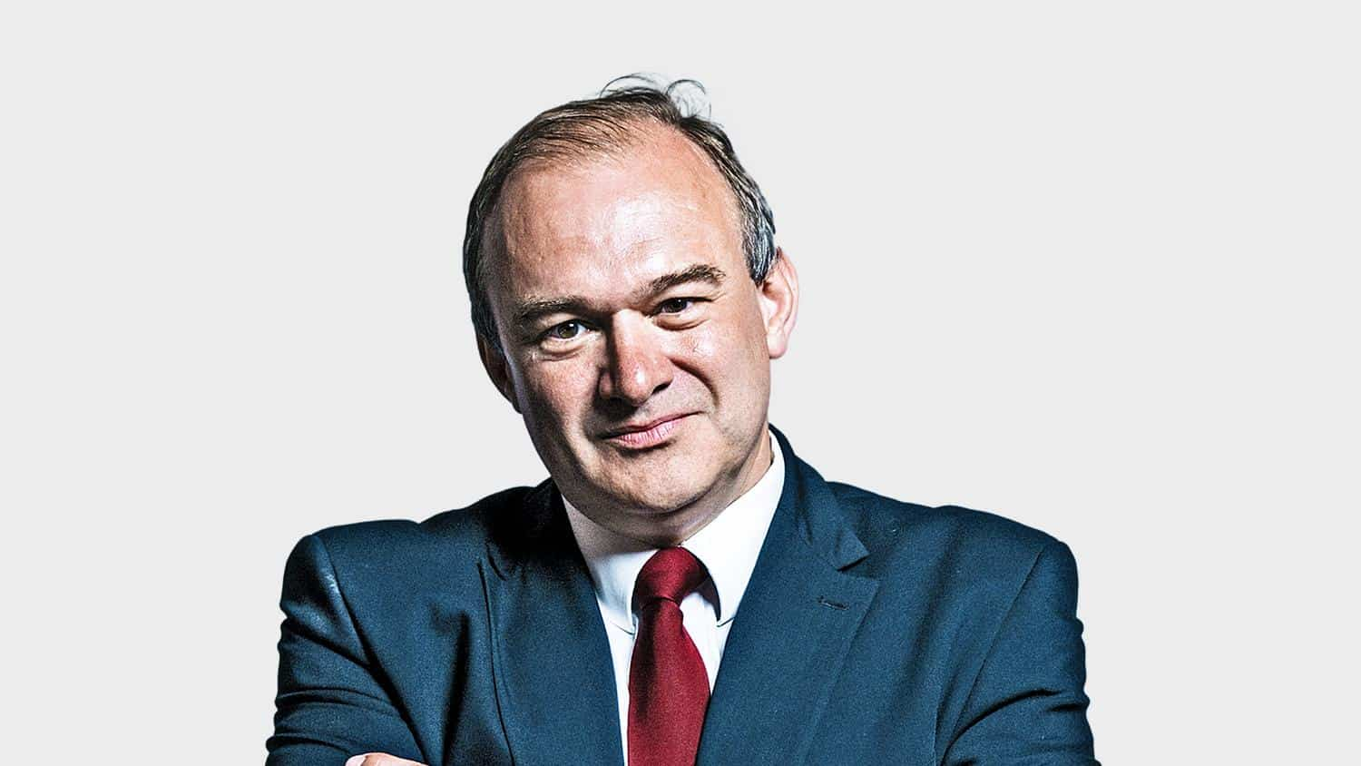 Divest Parliament: Ed Davey calling for divestment of fossil fuels.