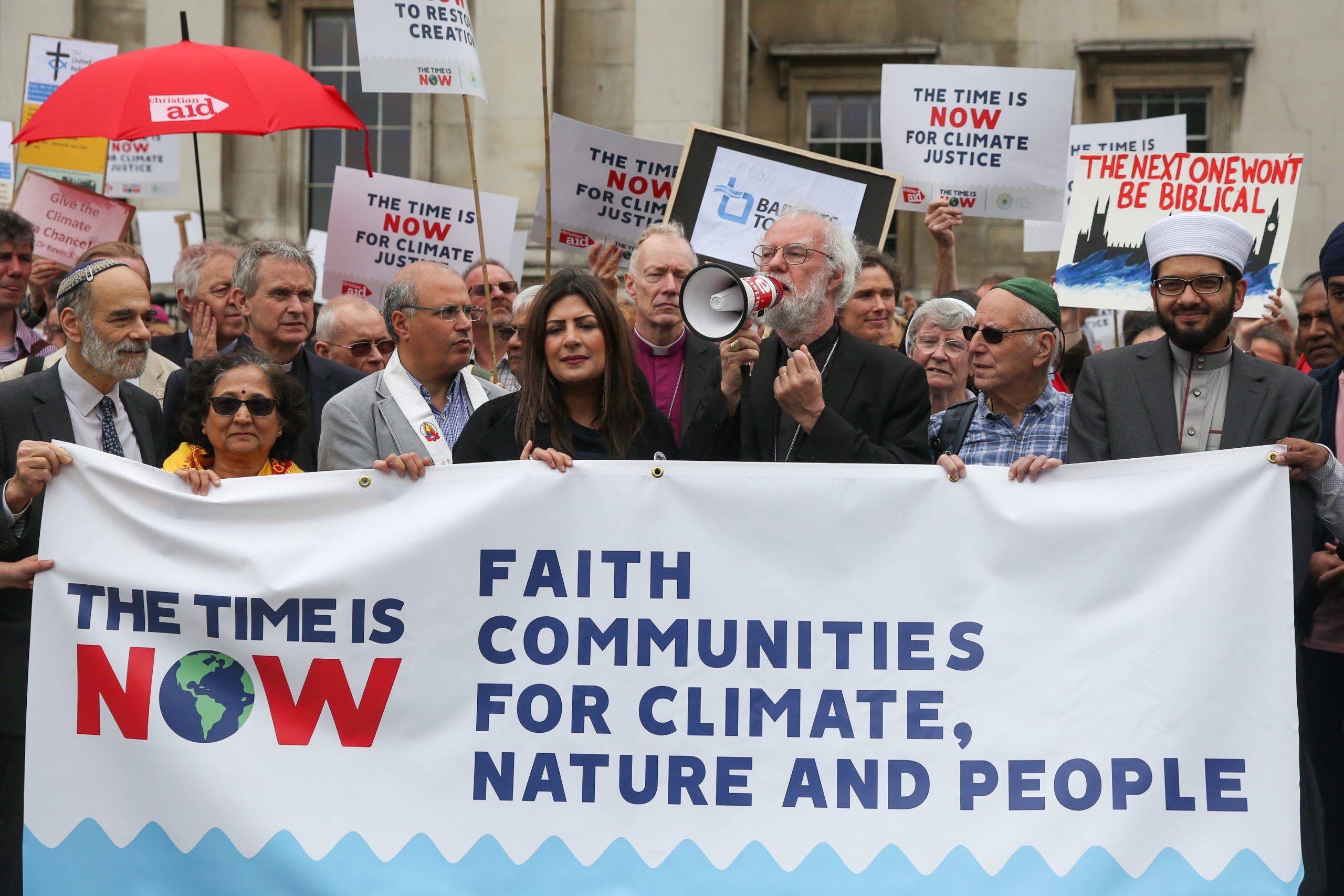 the time is now climate change lobby protest environmental pr