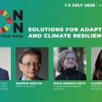 Solutions for adaptation and climate resilience: LCAW's top speakers
